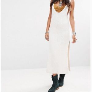 Free People Emmy Rib Dress